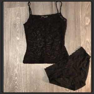 Baroque Scrolled Sheer Camisole Lingerie